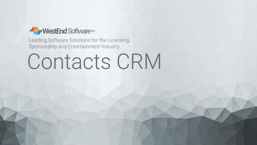 Westend Software Contacts Crm Module