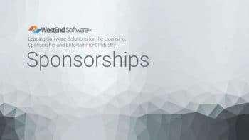 Westend Software Sponsorships Module, Sponsorship management software , Tracking sponsorship