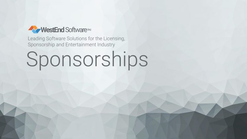 Westend Software Sponsorships Module, Sponsorship management software , Tracking sponsorship